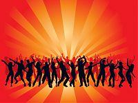 Танцующие люди