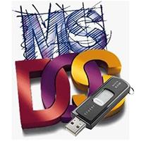 MS DOS на USB drive