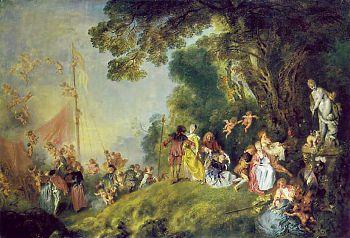 Жан Антуан Ватто - Паломничество на остров Киферу