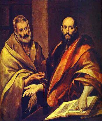 Эль Греко - Апостолы Петр и Павел