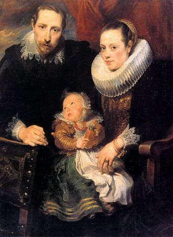 Антонис ван Дейк - Семейный Портрет