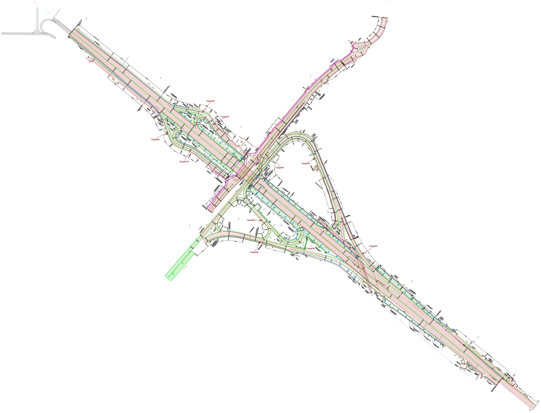 развязка мкад и трассы м1. схема движения