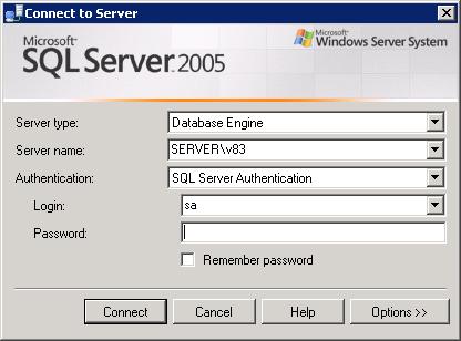MS SQL 2005 подключение к именованному инстансу