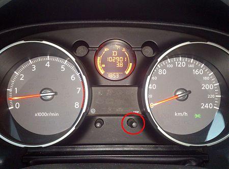Панель управления Nissan Qashqai