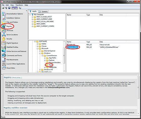 Adobe Customization Wizard XI рис.3