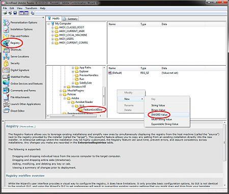 Adobe Customization Wizard XI рис.5