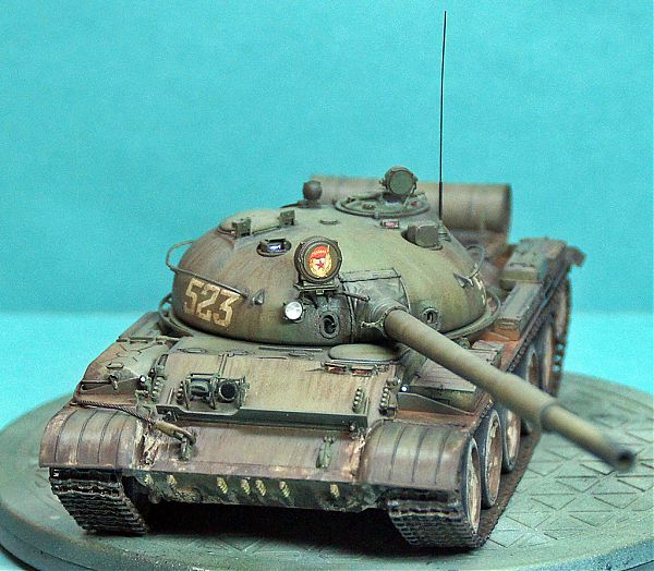 Модель танка Т-62 рис.8