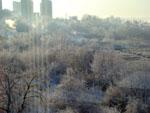 Зимний вид из окна - фото2