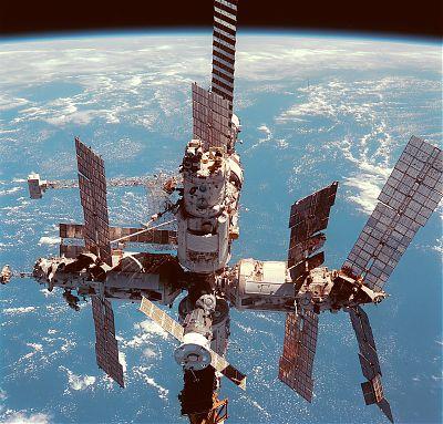 Станция Мир 12 июня 1998 года